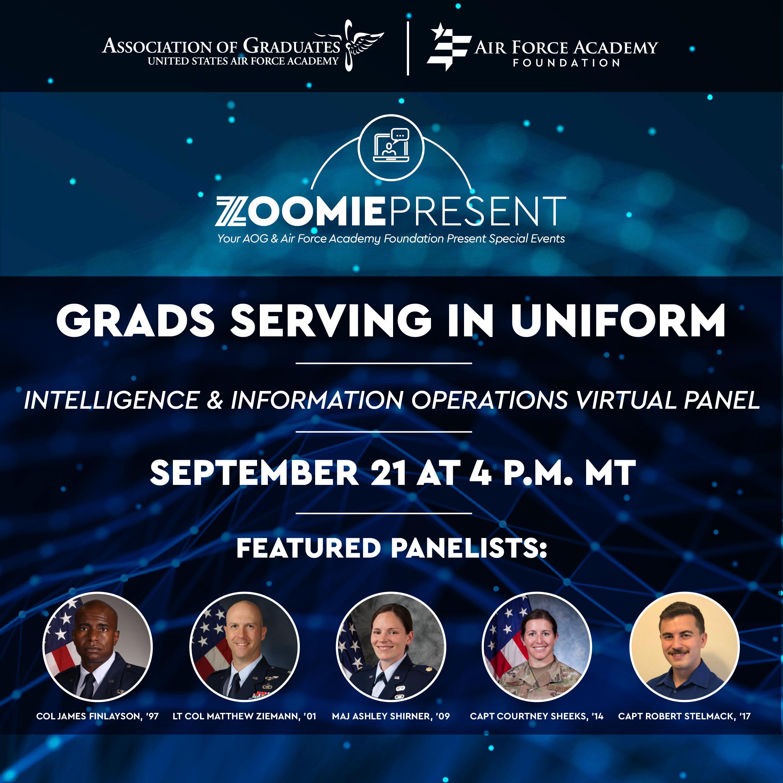 Image for Grads Serving in Uniform | Intelligence & Information Operations webinar