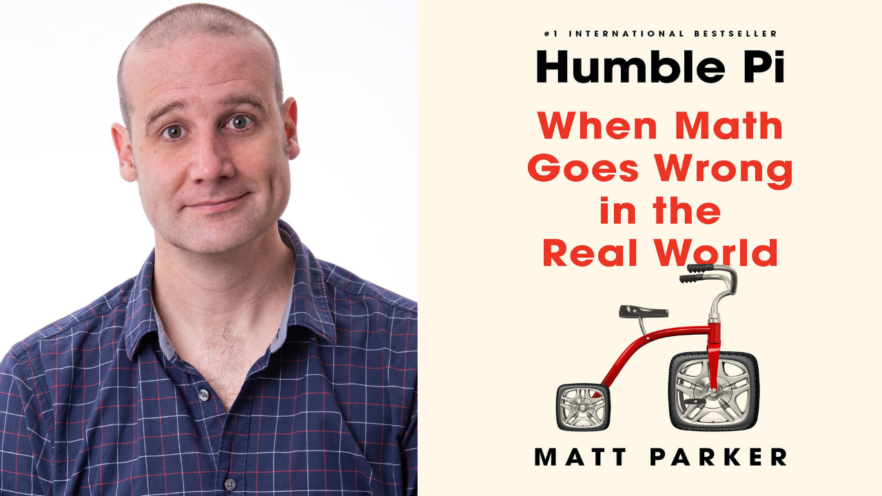 Image for Author Talk: Humble Pi: When Math Goes Wrong in the Real World webinar