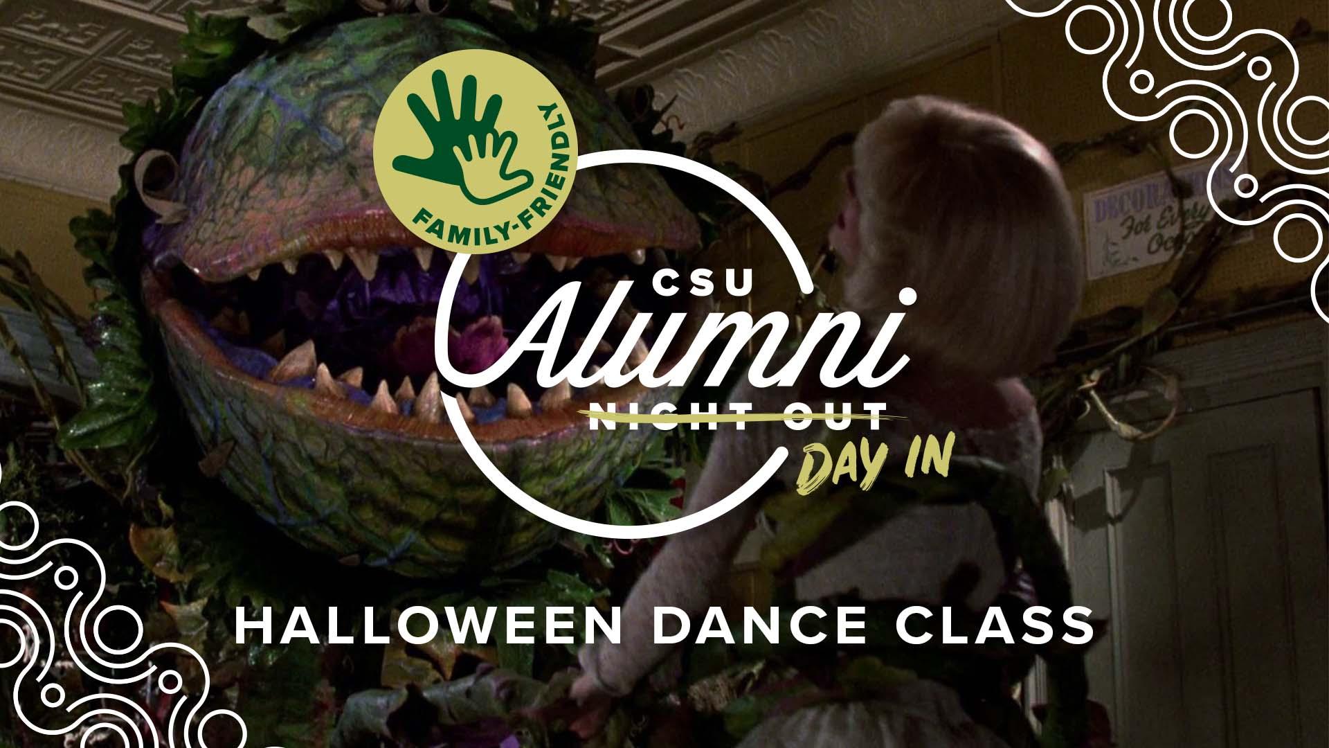Image for Alumni Day In: Halloween Dance Class webinar