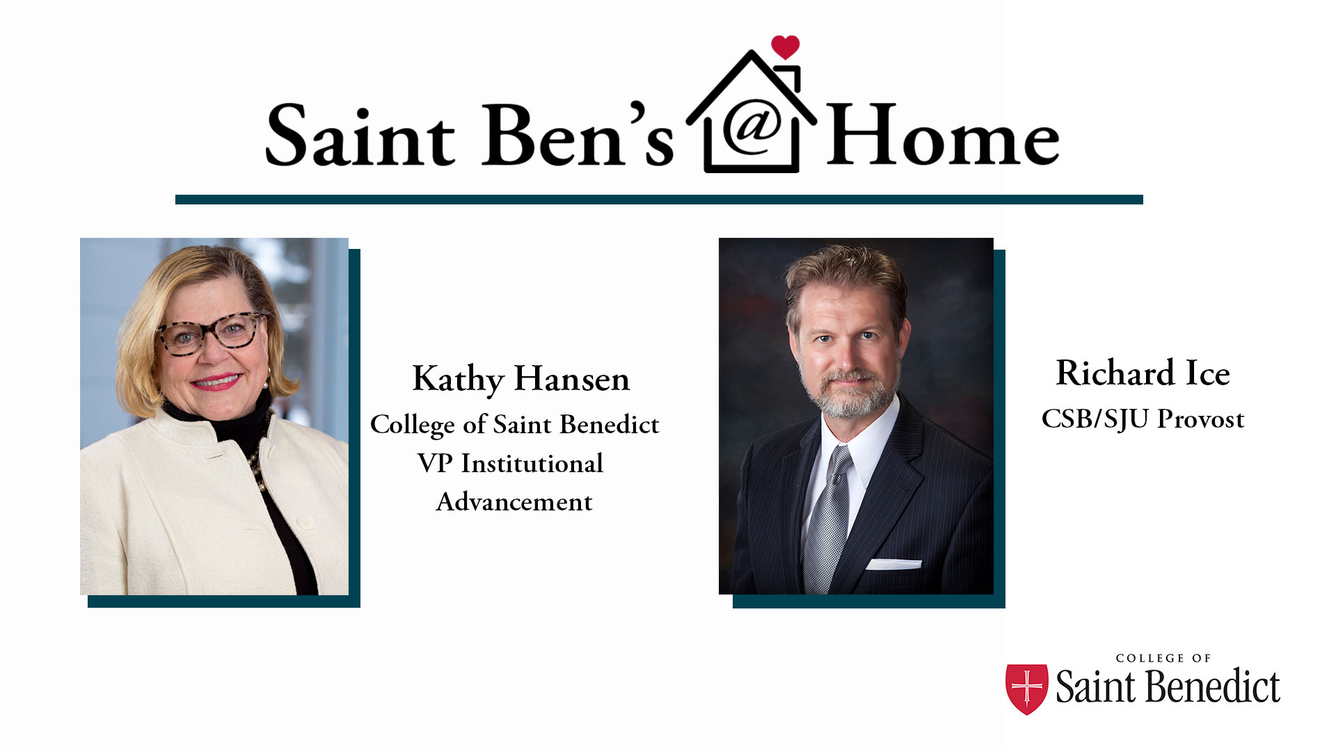 Image for Saint Ben's @ Home: A Conversation with Richard Ice (Episode Three) webinar