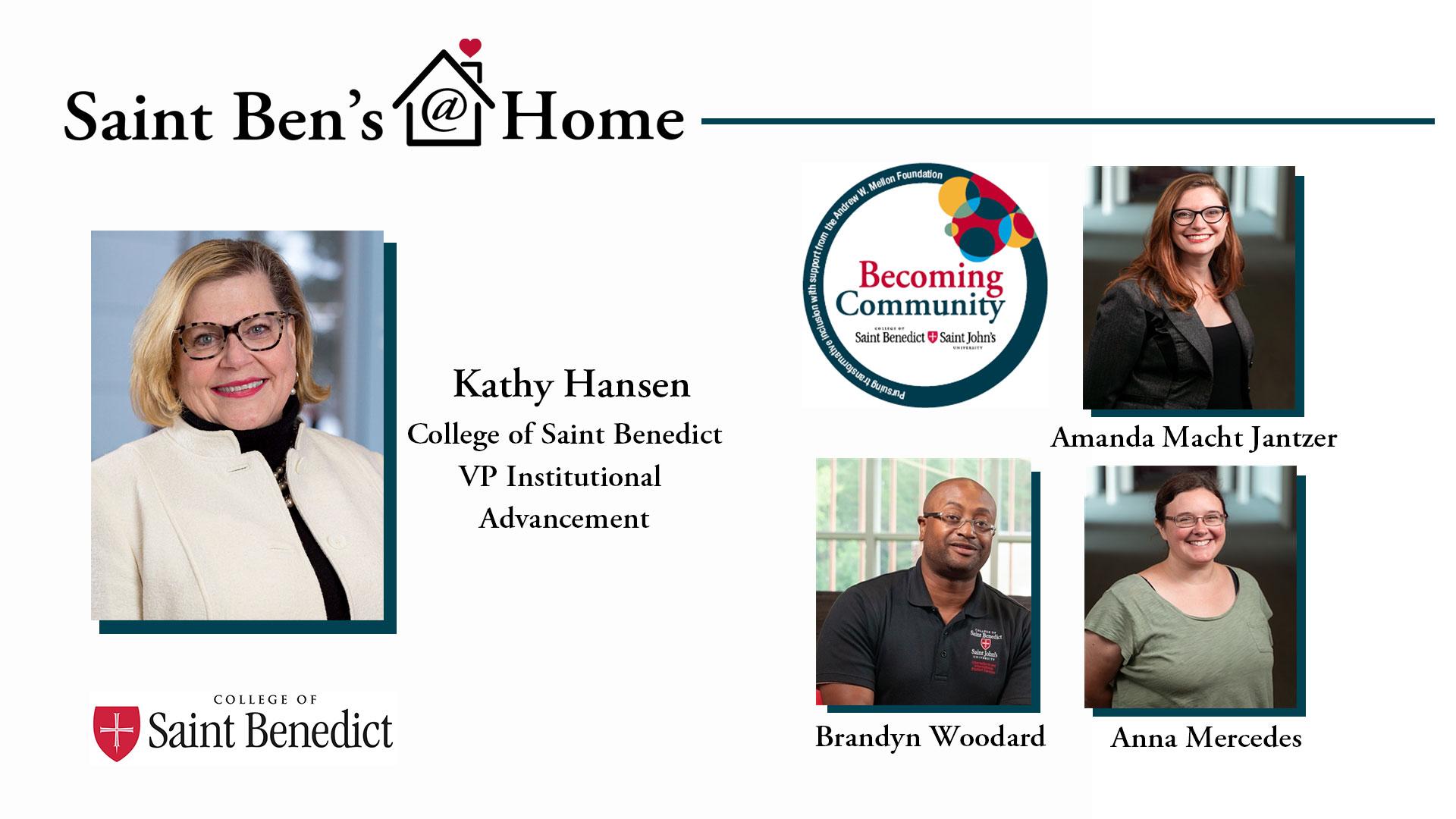 Image for Saint Ben's @ Home: Becoming Community webinar