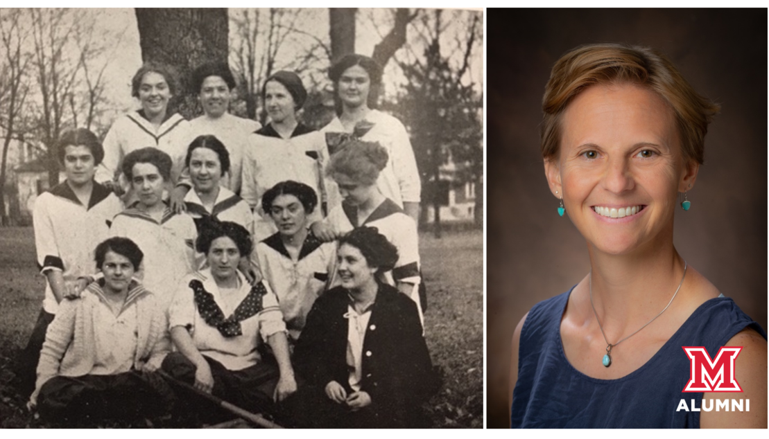 Image for Miami Presents: Women's collegiate baseball in Ohio in the early 20th century webinar