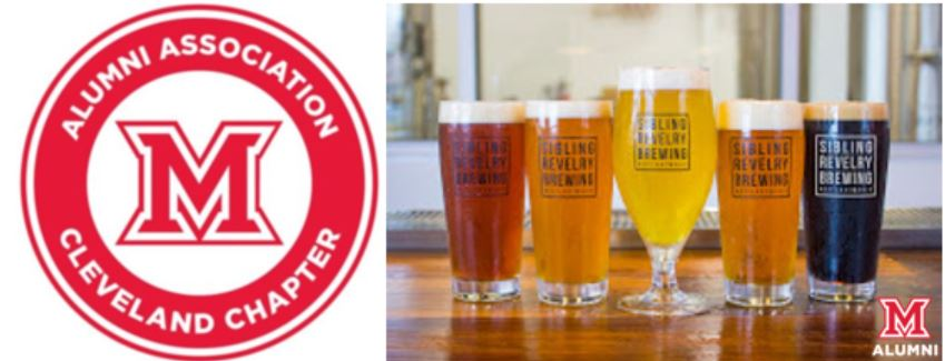 Image for Miami Presents: Cleveland Chapter Virtual Beer Tasting with Sibling Revelry Brewing webinar