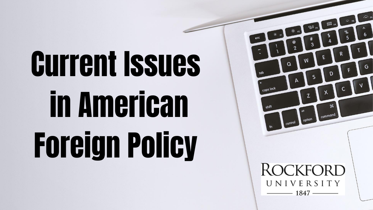 Image for Constitutional Issues and Crises in Foreign Policy webinar