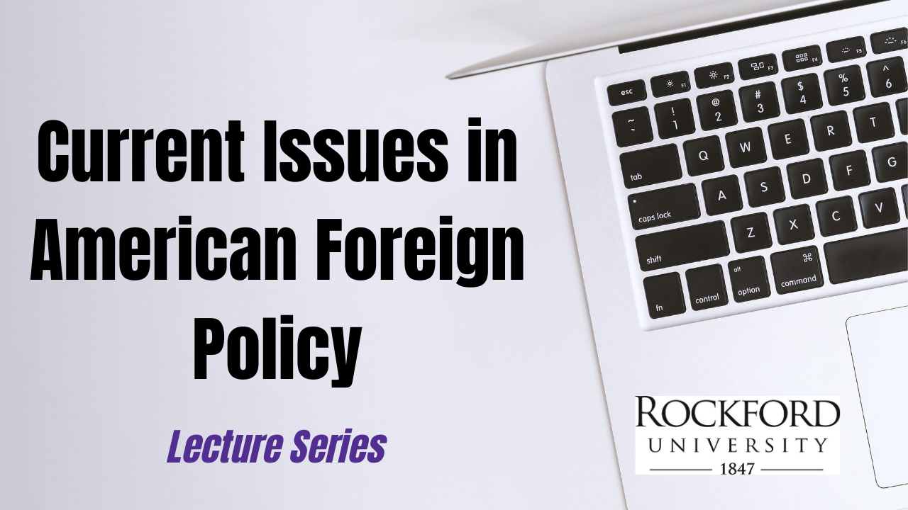 Image for Media Influence on US Foreign Policy webinar