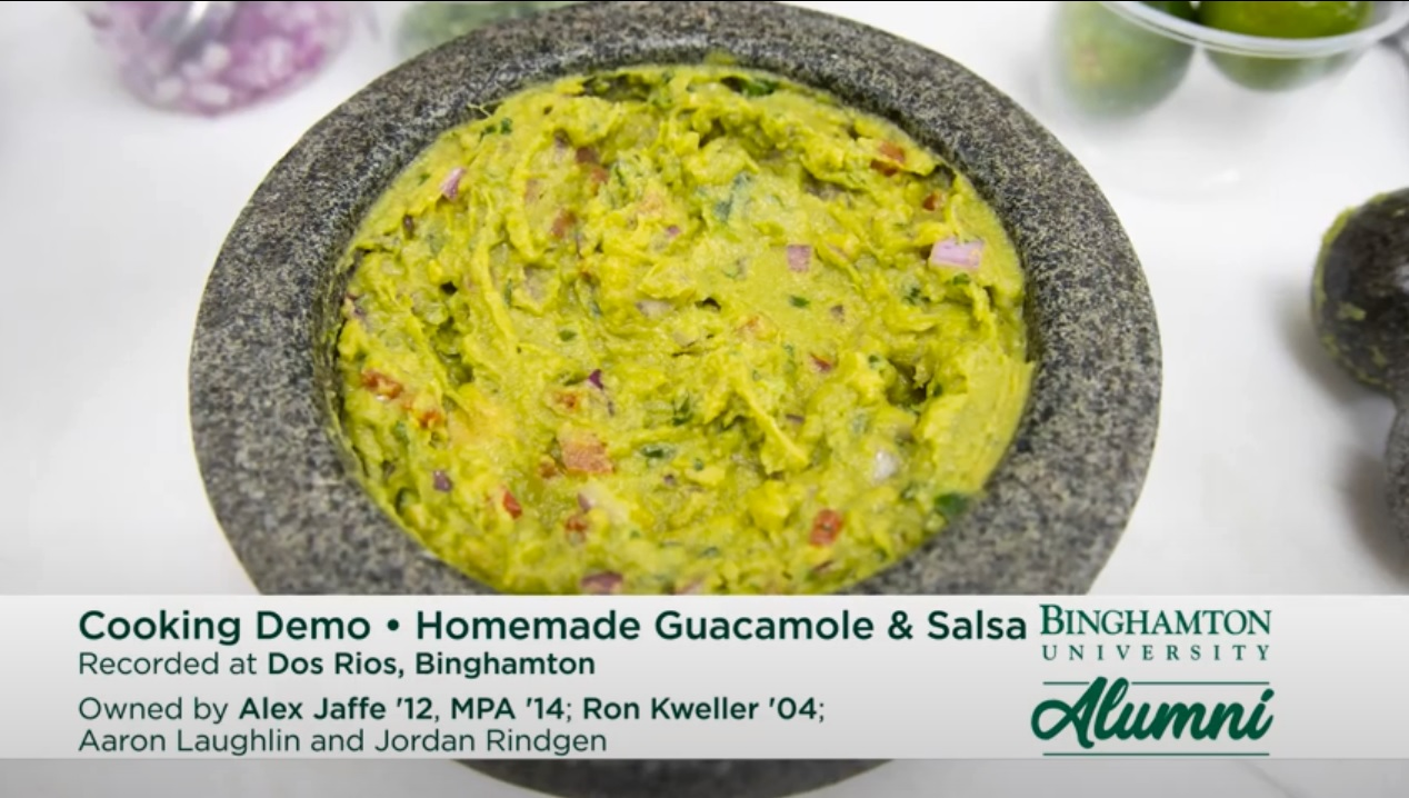 Image for Bearcat Cooking and Cocktails - Homemade Guacamole and Salsa (Dos Rios) webinar