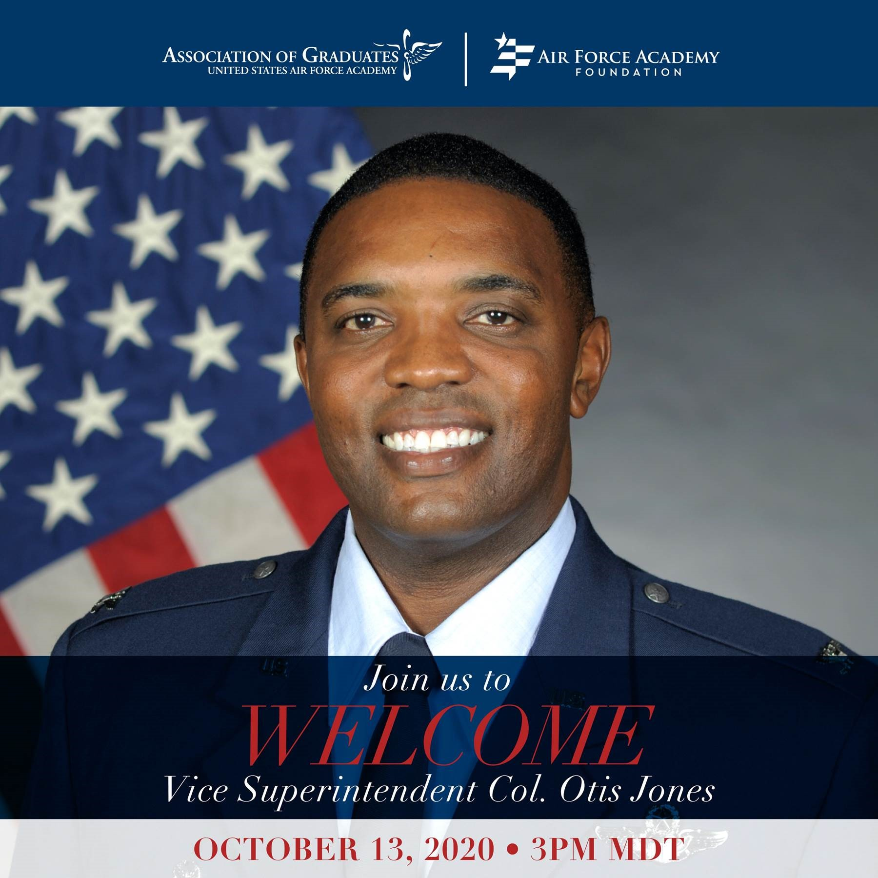 Image for Welcome Call for Col Jones webinar