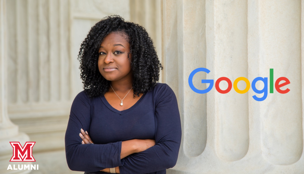 Image for The Farmer School of Business Presents: Camille Stewart, '08; Head of Security Policy for Google Play and Android webinar