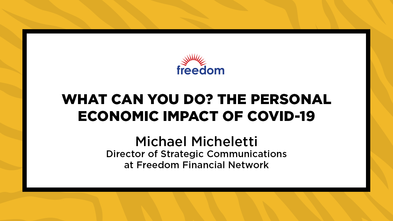 Image for What Can You Do? The Personal Economic Impact of COVID-19 webinar