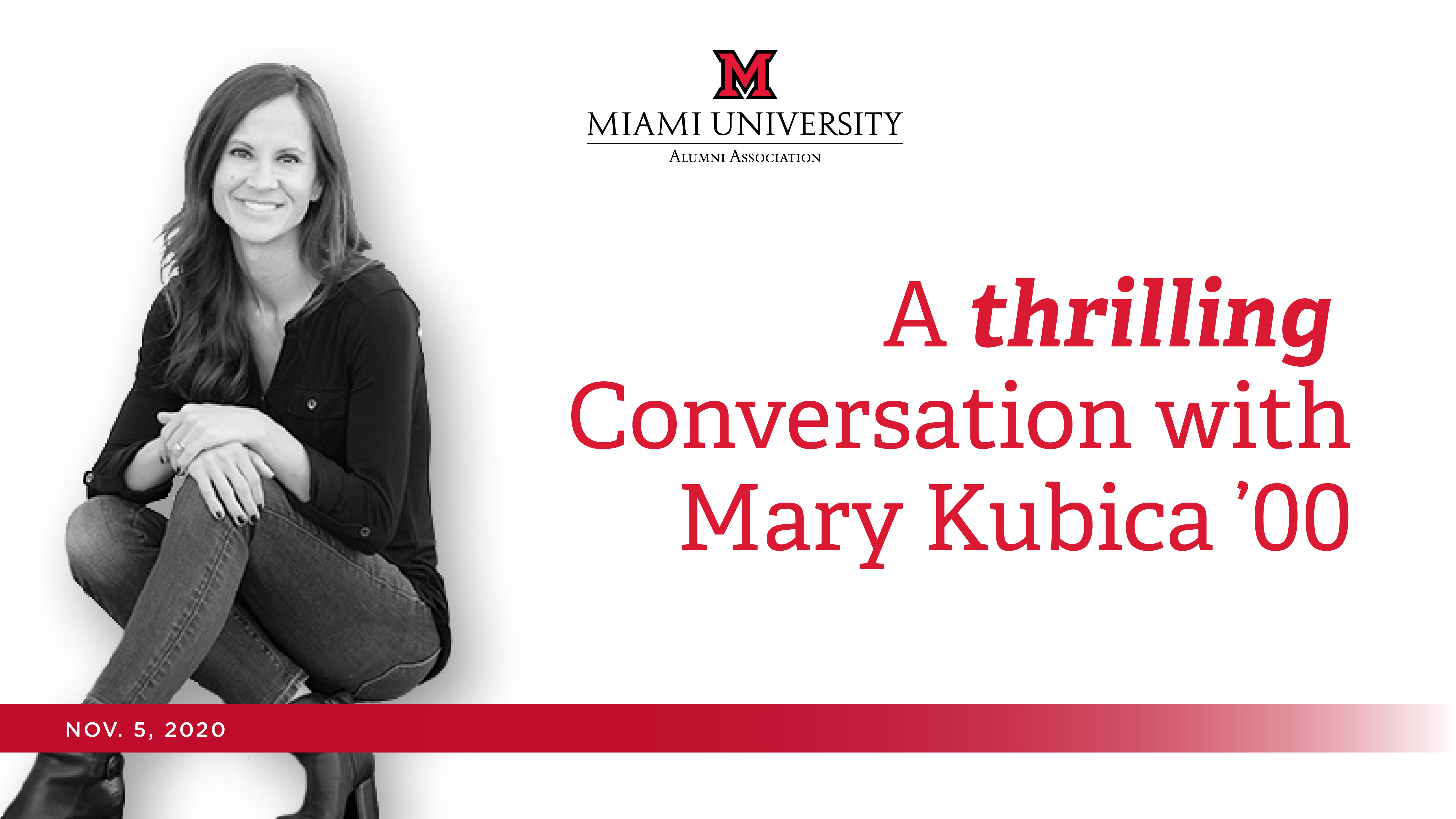 Image for A Thrilling Conversation with Mary Kubica webinar