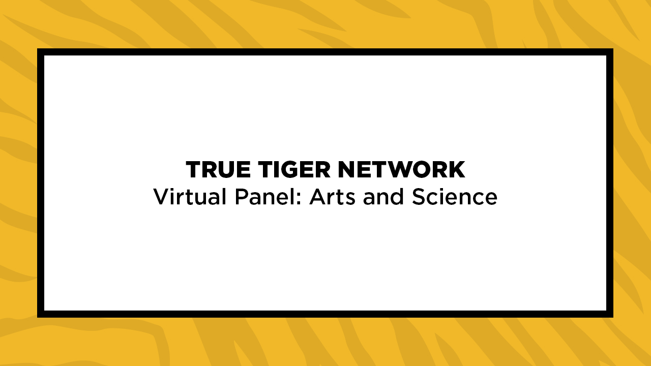 Image for True Tiger Network Virtual Panel: Arts and Science webinar