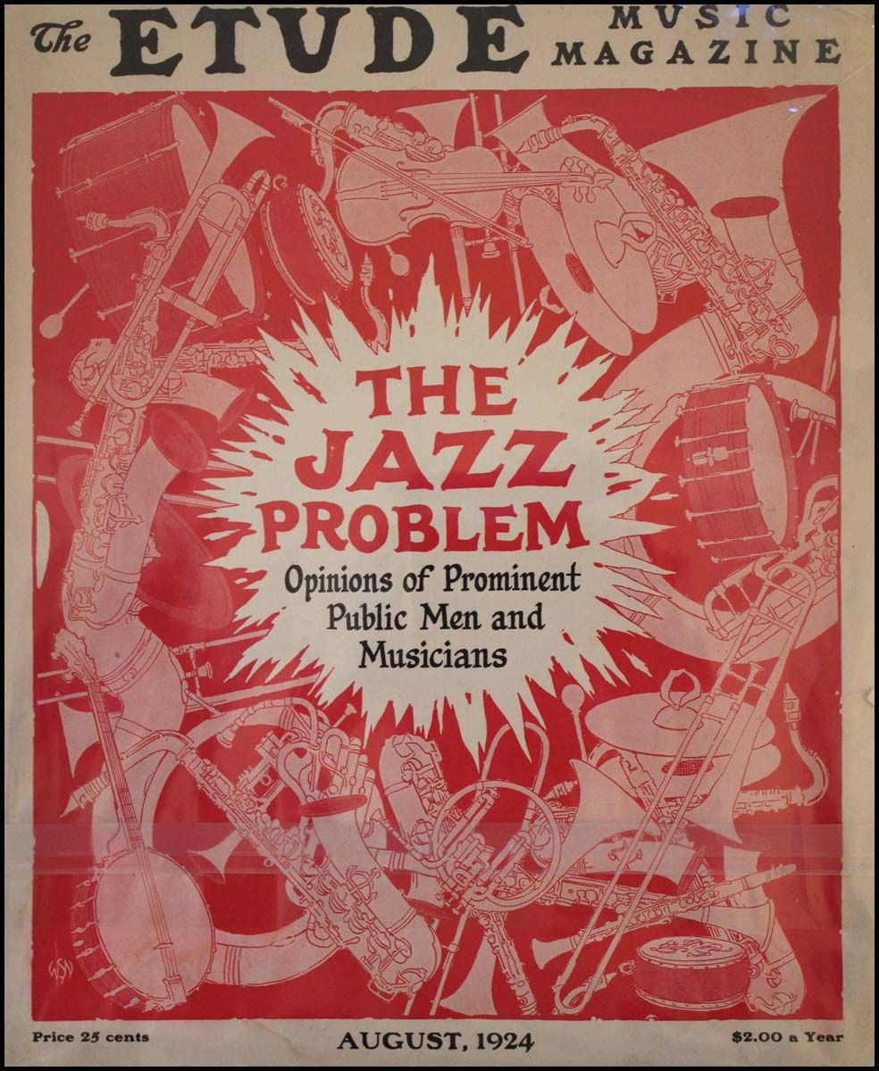 """Image for Fall 2020 RU Online Brown Bag Series, Dr. Jacob Hardesty, Associate Professor of Education: """"The Jazz Problem"""": Music and Morality in 1920s Education webinar"""