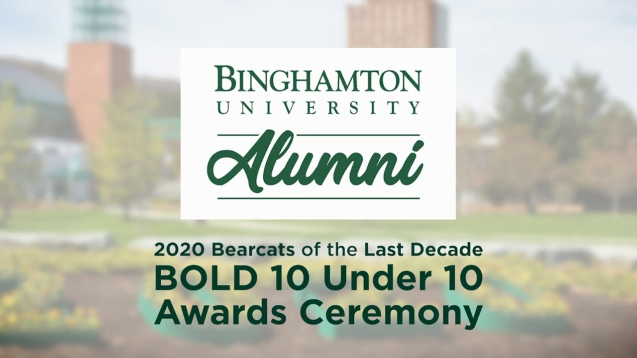 Image for Bearcats of the Last Decade (BOLD) 10 Under 10 Awards Ceremony webinar
