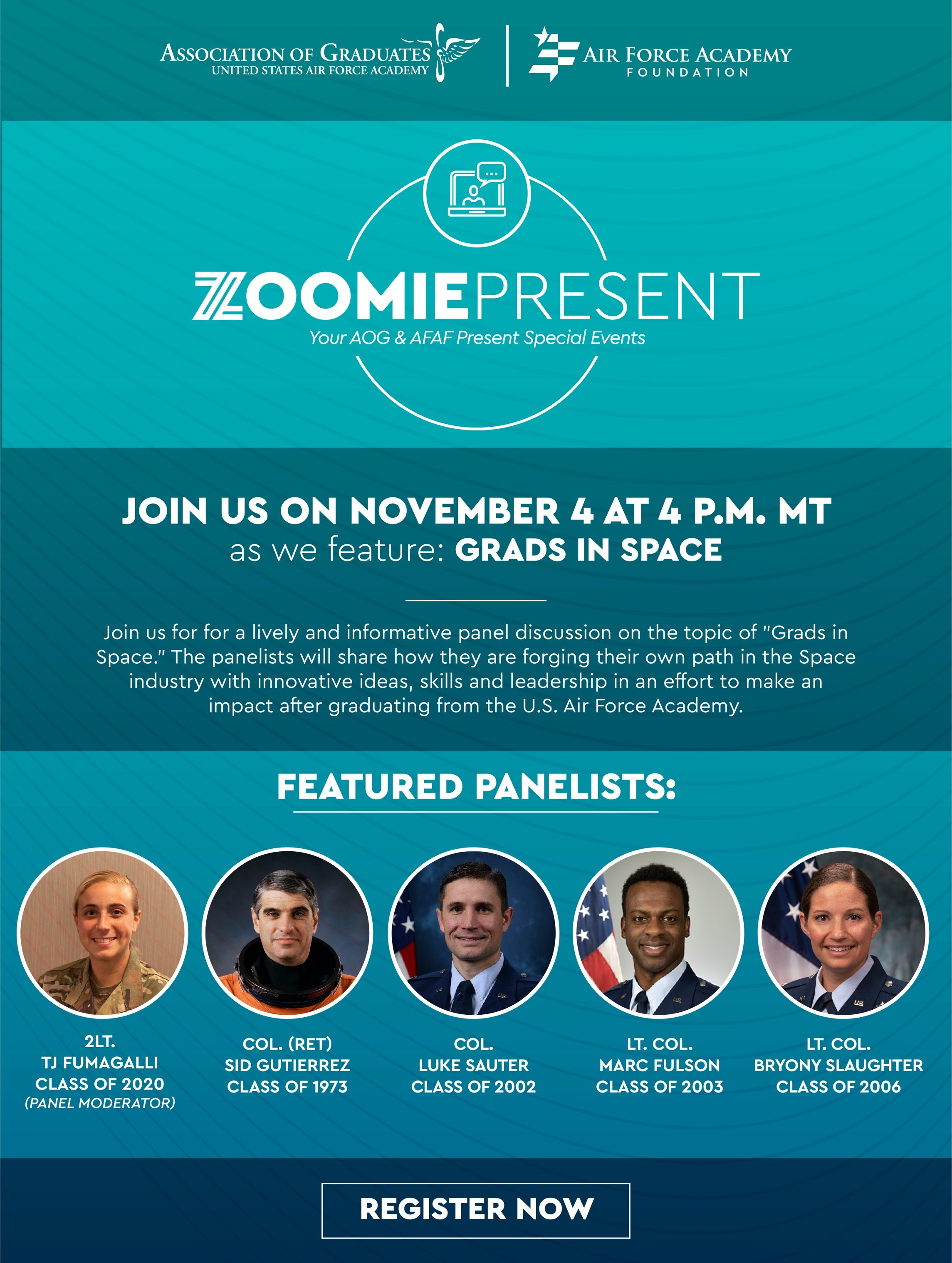 Image for ZoomiePresent: Grads in Space webinar