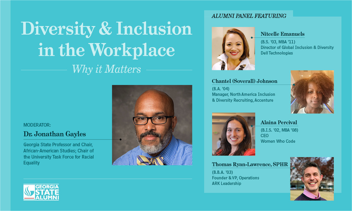 Image for Diversity & Inclusion in the Workplace: Why it Matters webinar