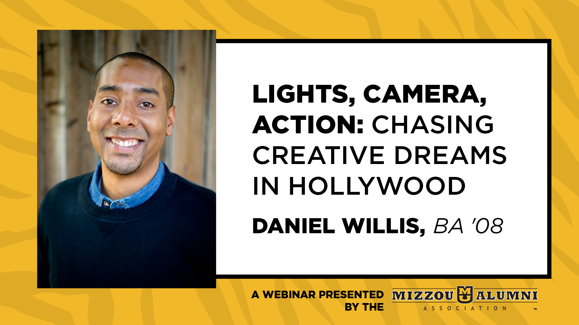 Image for Lights, Camera, Action: Chasing Creative Dreams in Hollywood webinar