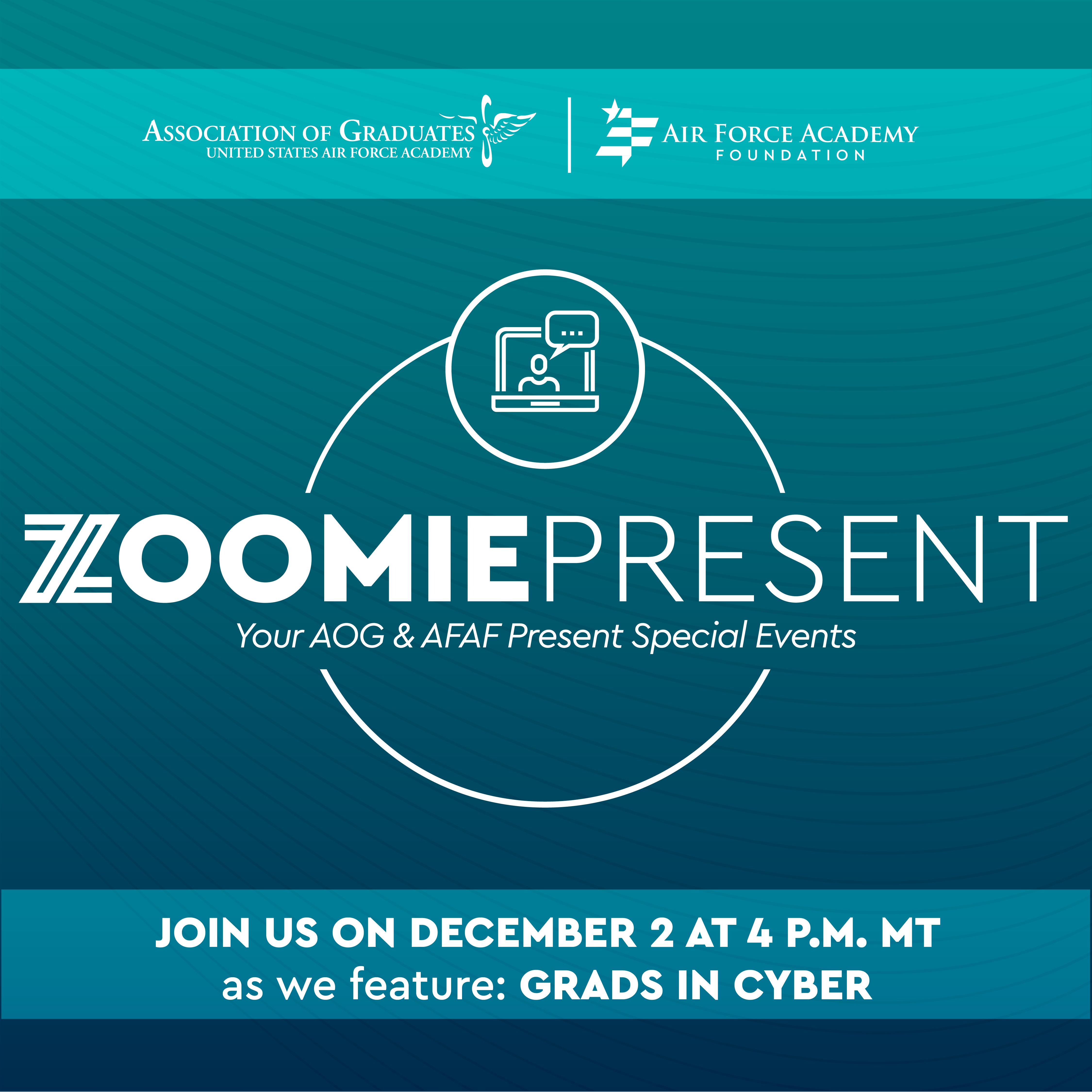 Image for ZoomiePresent: Grads in Cyber webinar