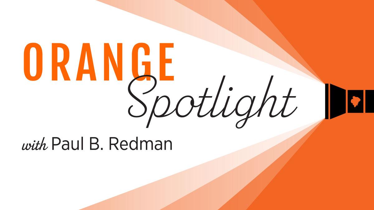 Image for Orange Spotlight: Paul Redman webinar