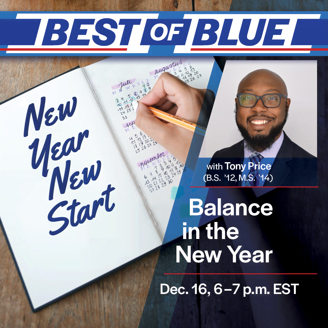 Image for Best of the Blue: Balance in the New Year webinar