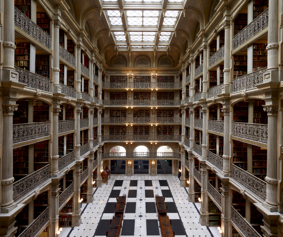 Image for Lunch with the Libraries - A Curator's Tour of the George Peabody Library webinar