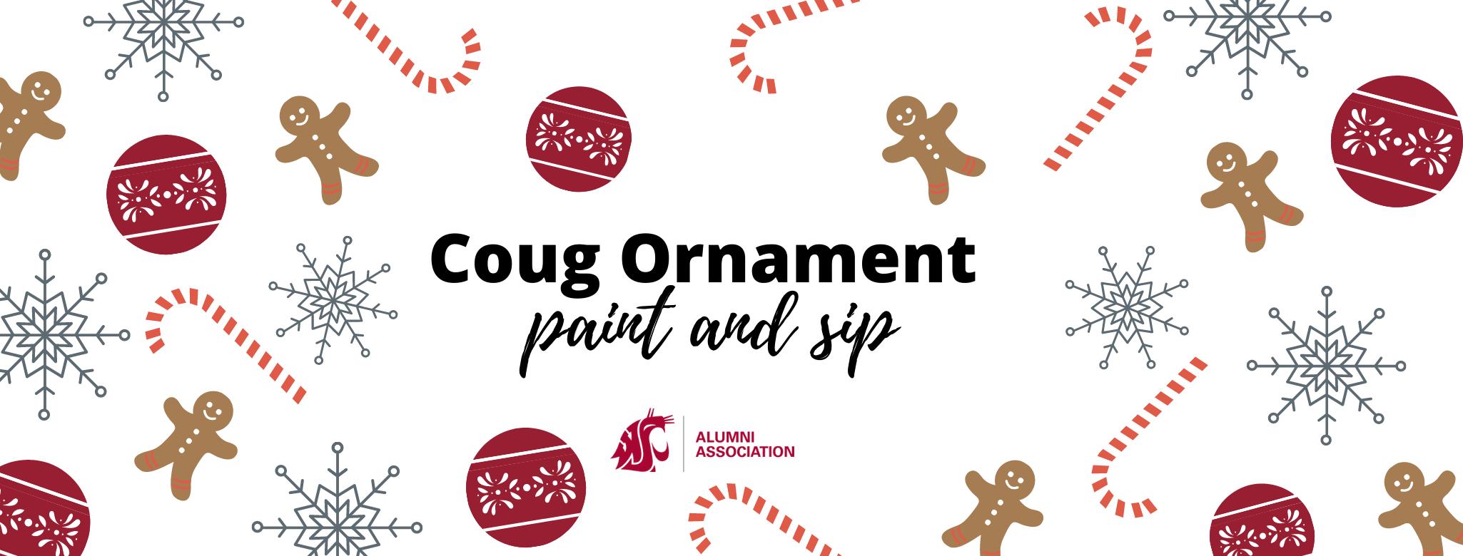 Image for Coug Ornament Paint Event webinar