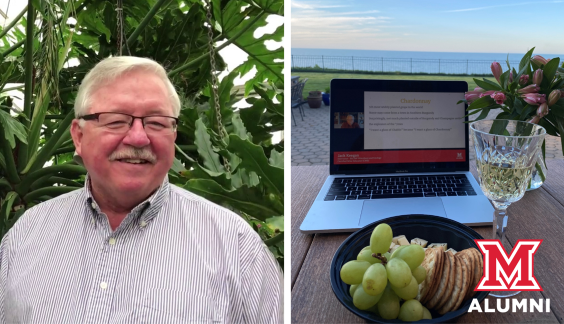 Image for Miami Presents: Class of 1970 50-year Reunion Virtual Wine Tasting with Jack Keegan webinar