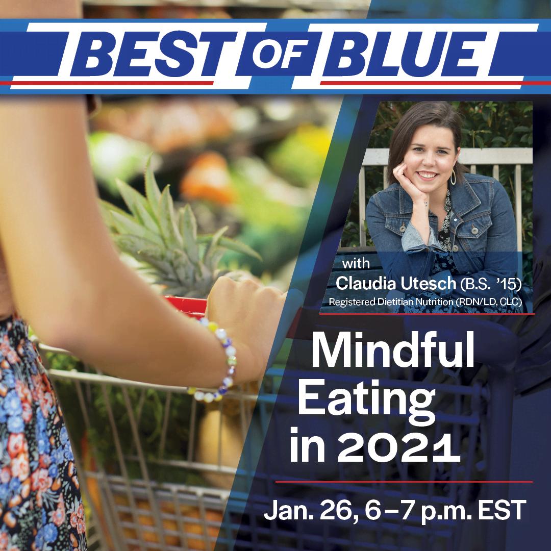Image for Best of Blue: Mindful Eating in 2021 webinar