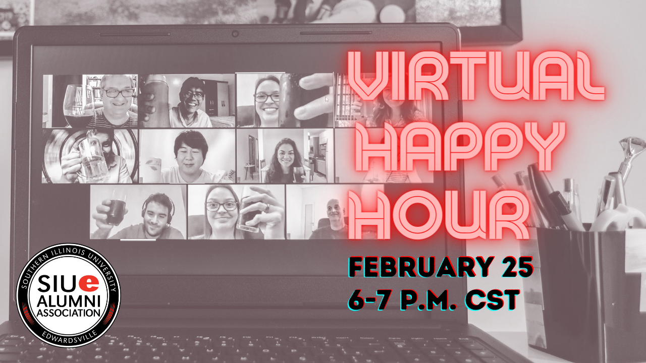 Image for Alumni & Friends Virtual Happy Hour webinar