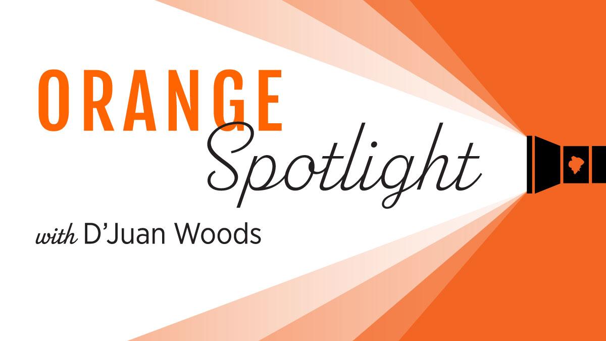 Image for Orange Spotlight: D'Juan Woods webinar
