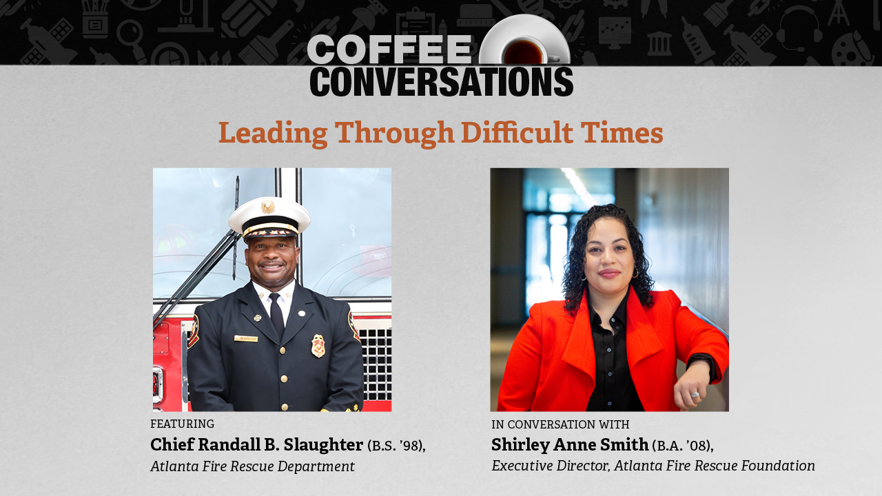 Image for Alumni Coffee Conversation: Leading Through Difficult Times webinar