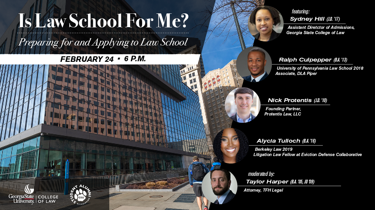 Image for Is Law School for Me? Preparing for and Applying to Law School webinar