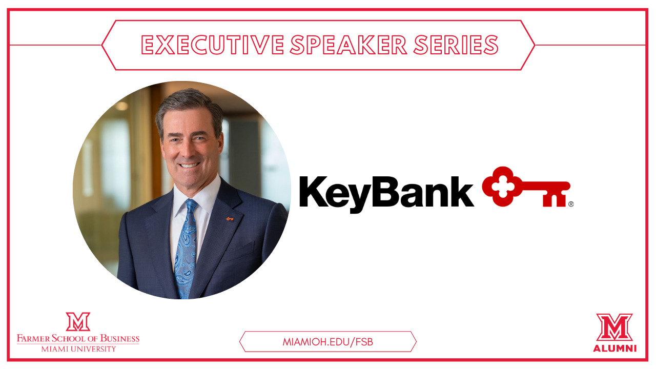 Image for The Farmer School of Business Presents: Christopher Gorman '83; Chairman, Chief Executive Officer, and President of KeyCorp webinar