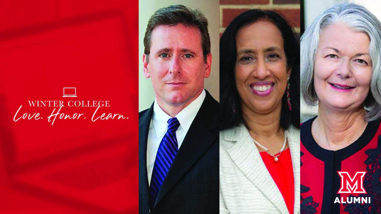 Image for Miami Presents: A Provost and Two Deans Walk into a College... webinar
