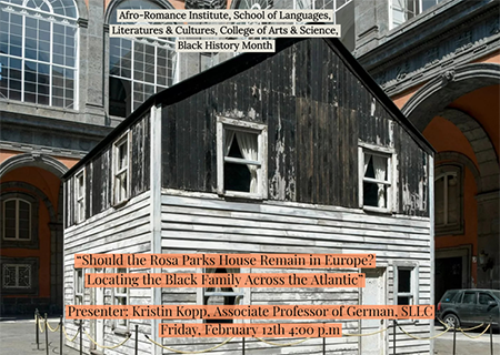 Image for Should the Rosa Parks House Remain in Europe? webinar