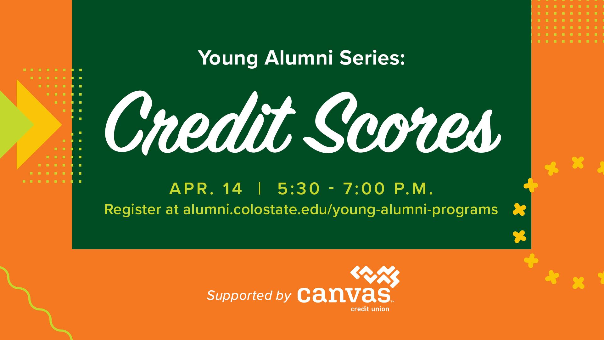 Image for Young Alumni Series: Credit Scores webinar