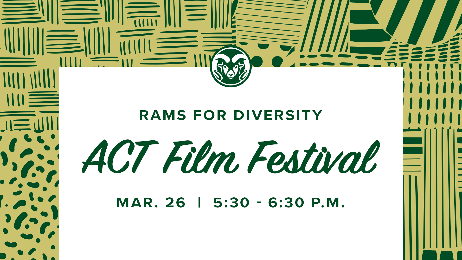Image for Alumni Night In with ACT Film Festival webinar