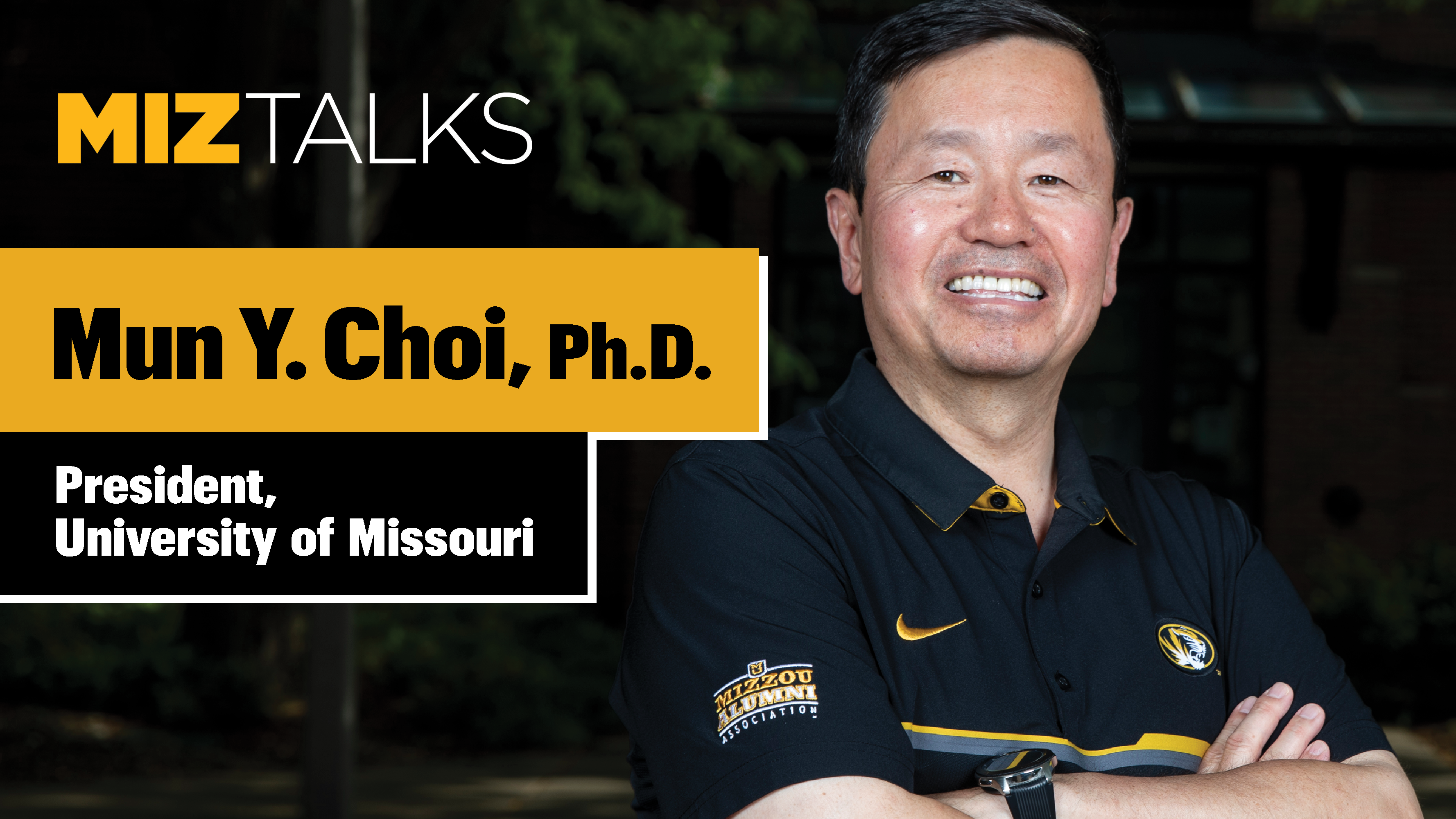 Image for MIZZOU LEADS with President Mun Choi webinar