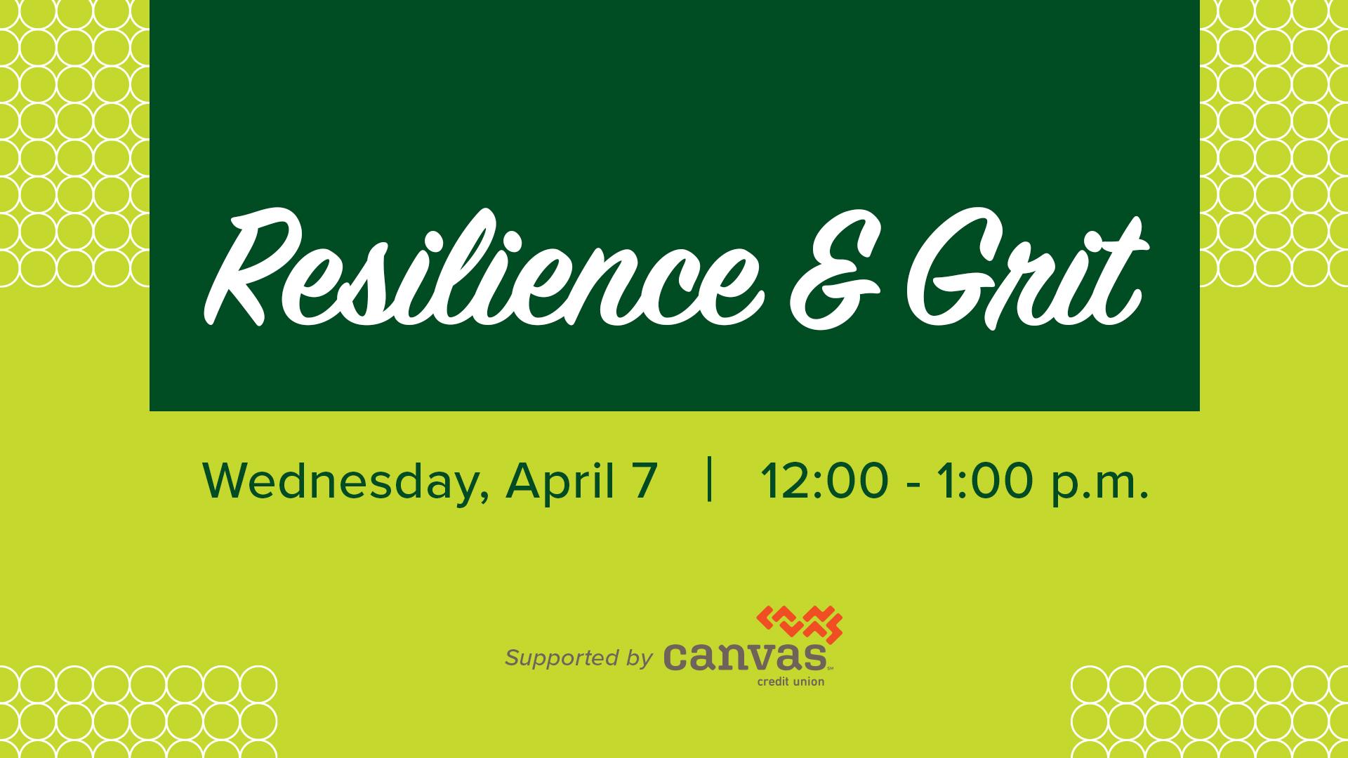 Image for Resilience & Grit webinar