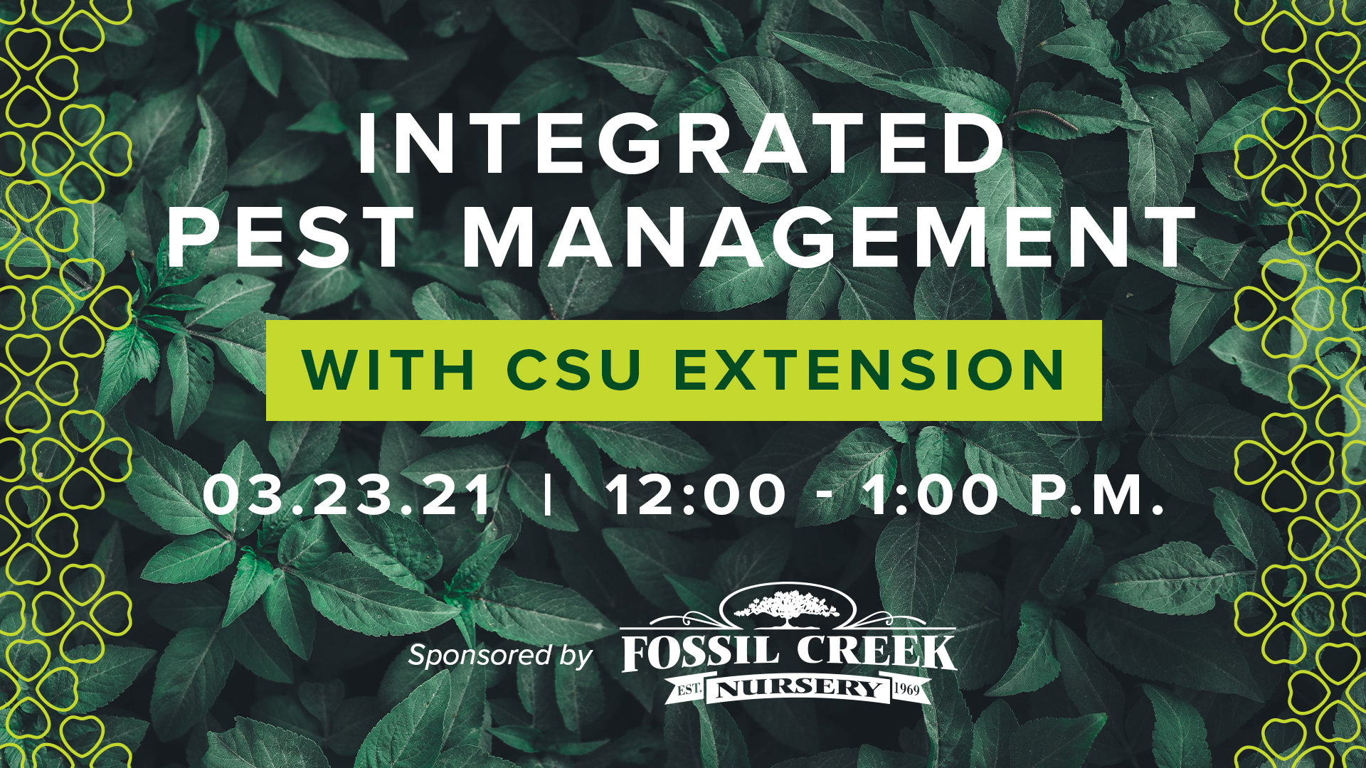 Image for Gardening Series with CSU Extension: Integrated Pest Management webinar