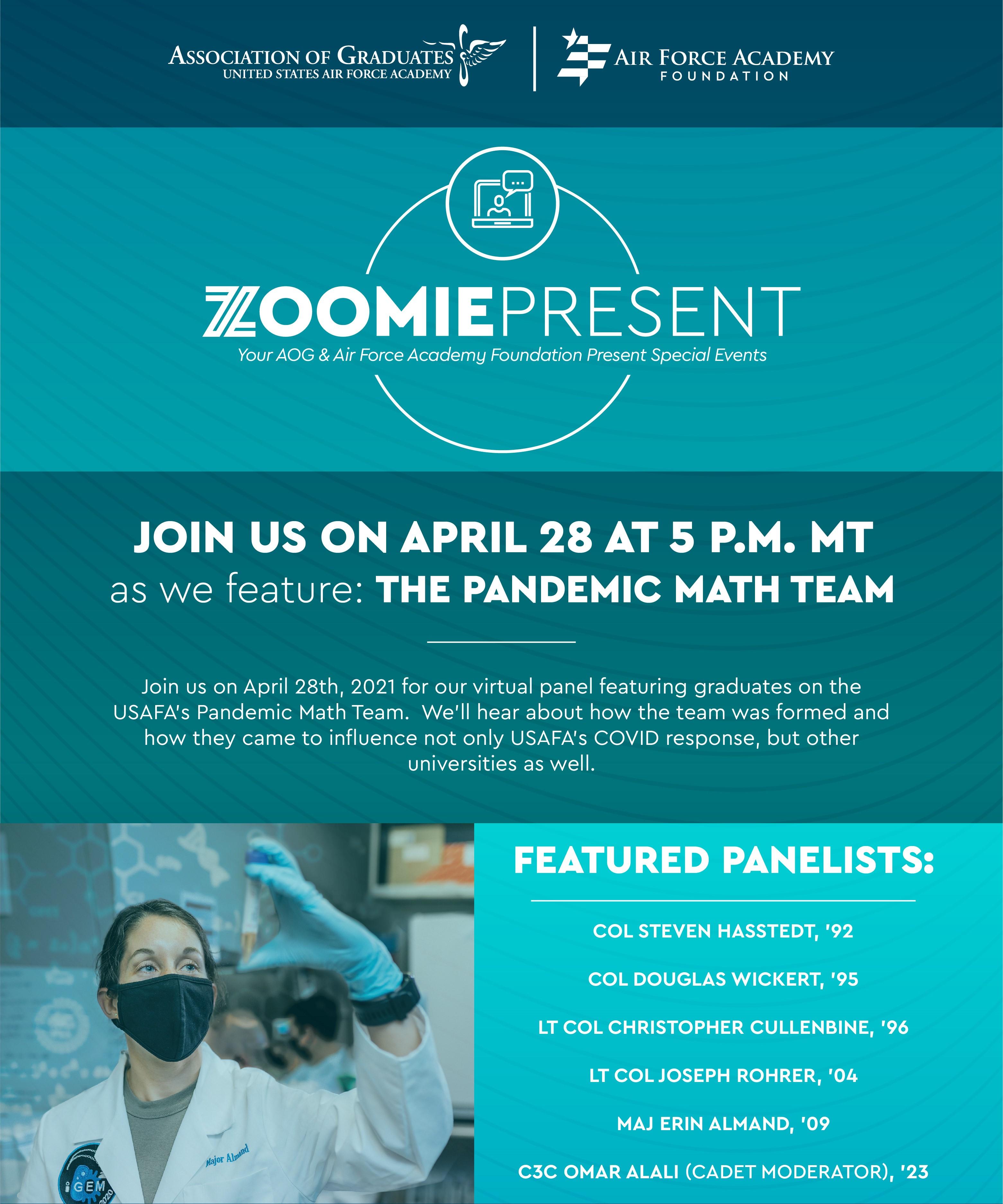 Image for ZoomiePresents: Pandemic Math Team webinar