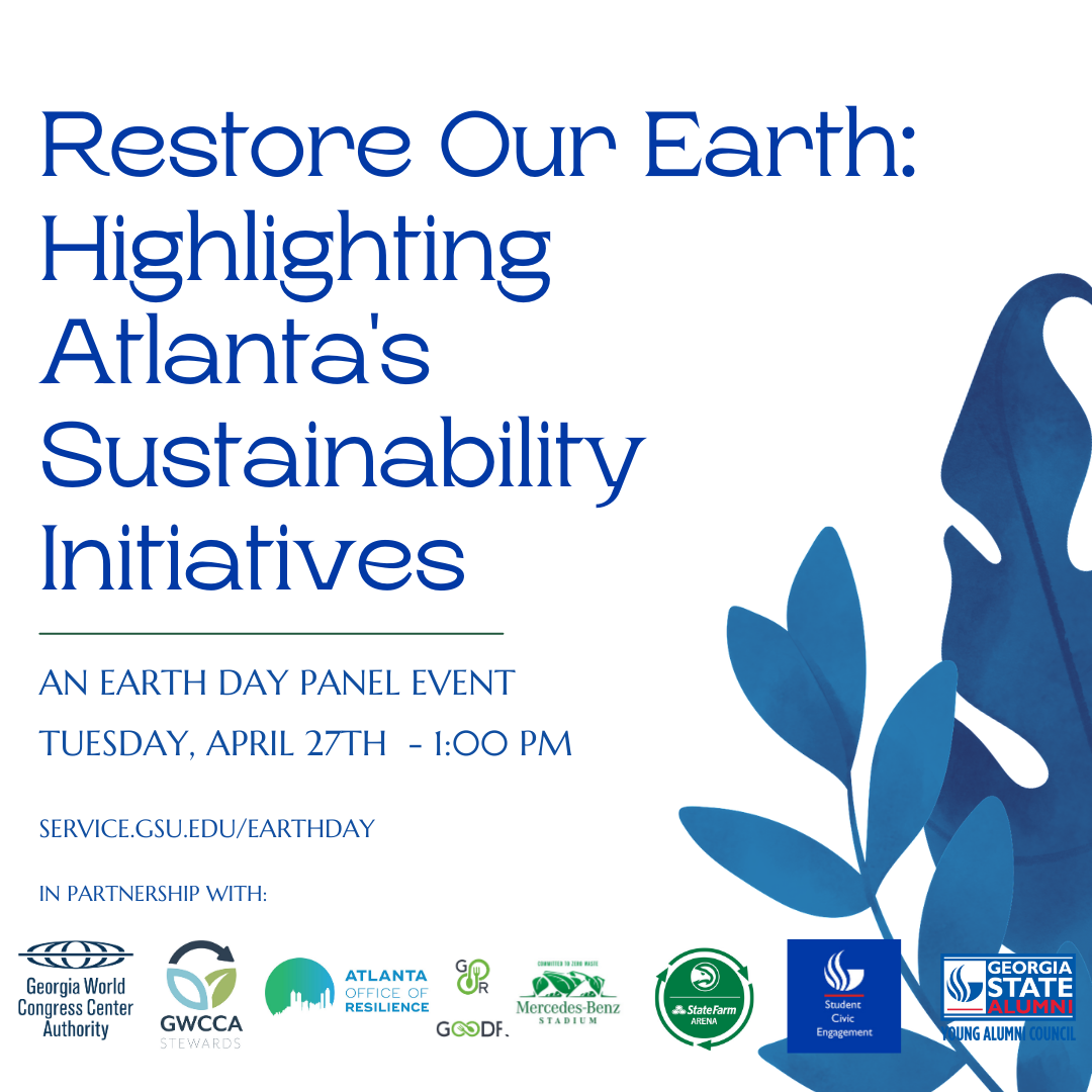Image for Restore our Earth: Highlighting Atlanta Sustainability Initiatives webinar