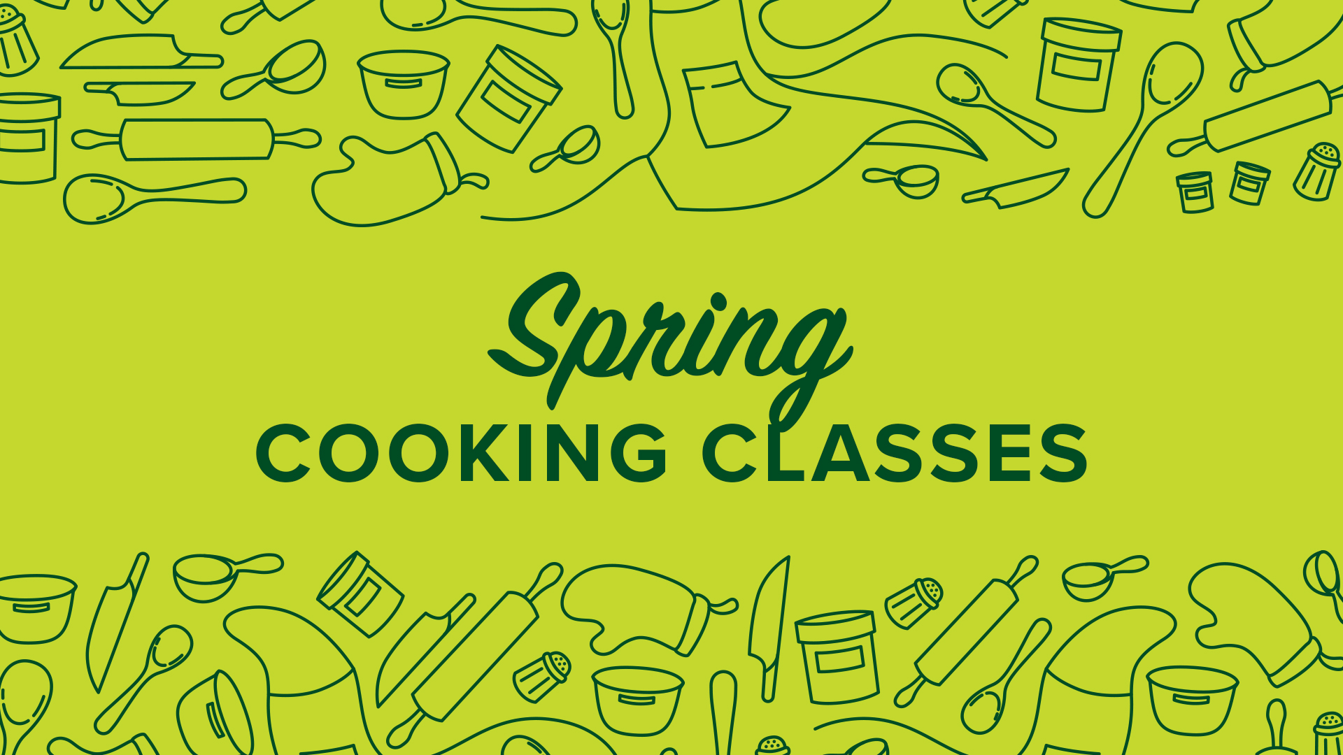 Image for Spring Cooking Class webinar