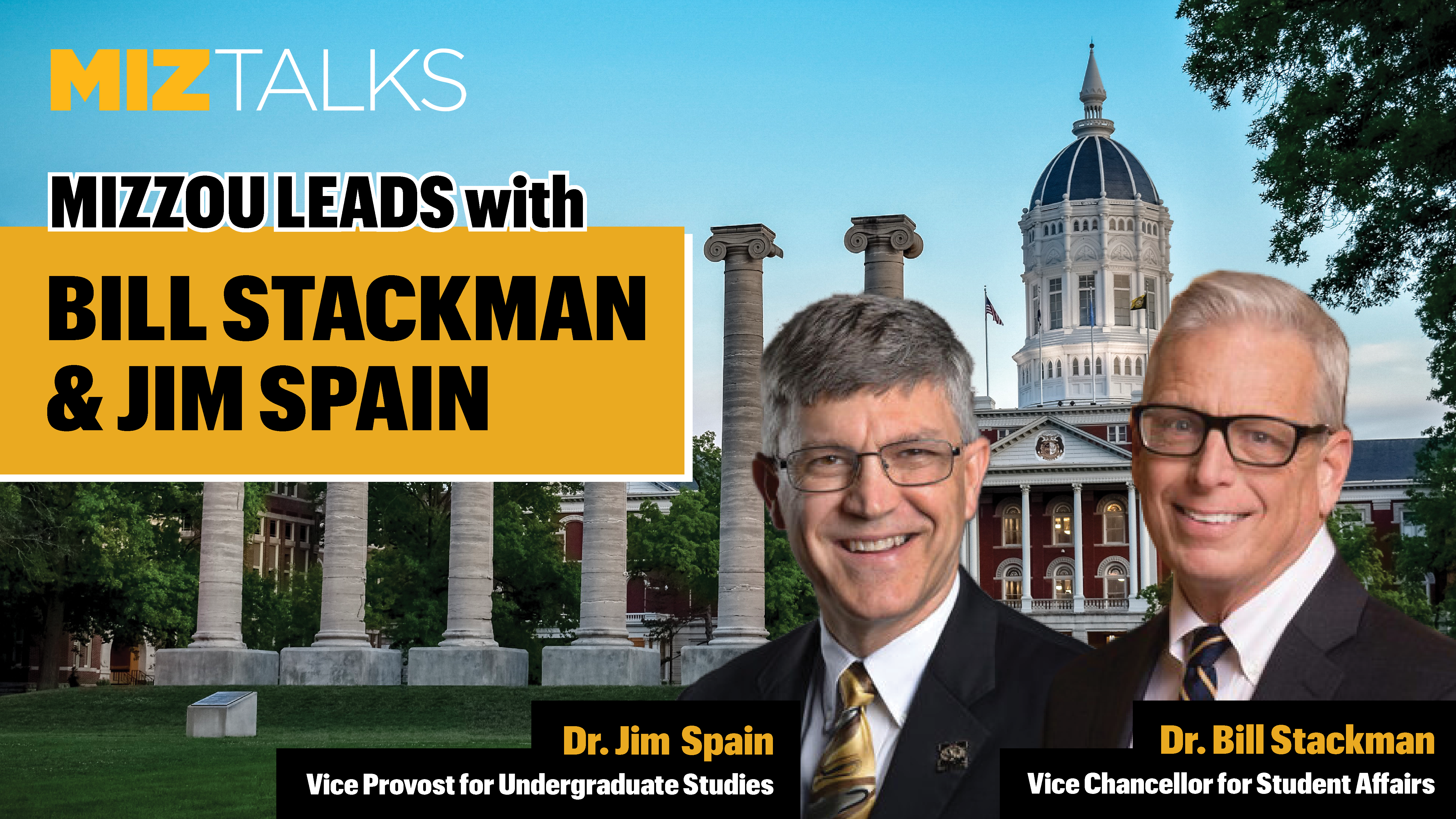 Image for MIZZOU LEADS with Bill Stackman and Jim Spain webinar