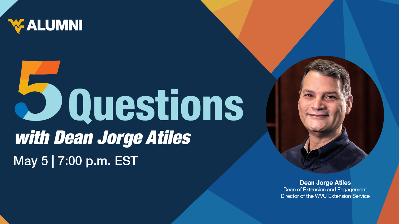 Image for 5 Questions with Dean Jorge Atiles webinar