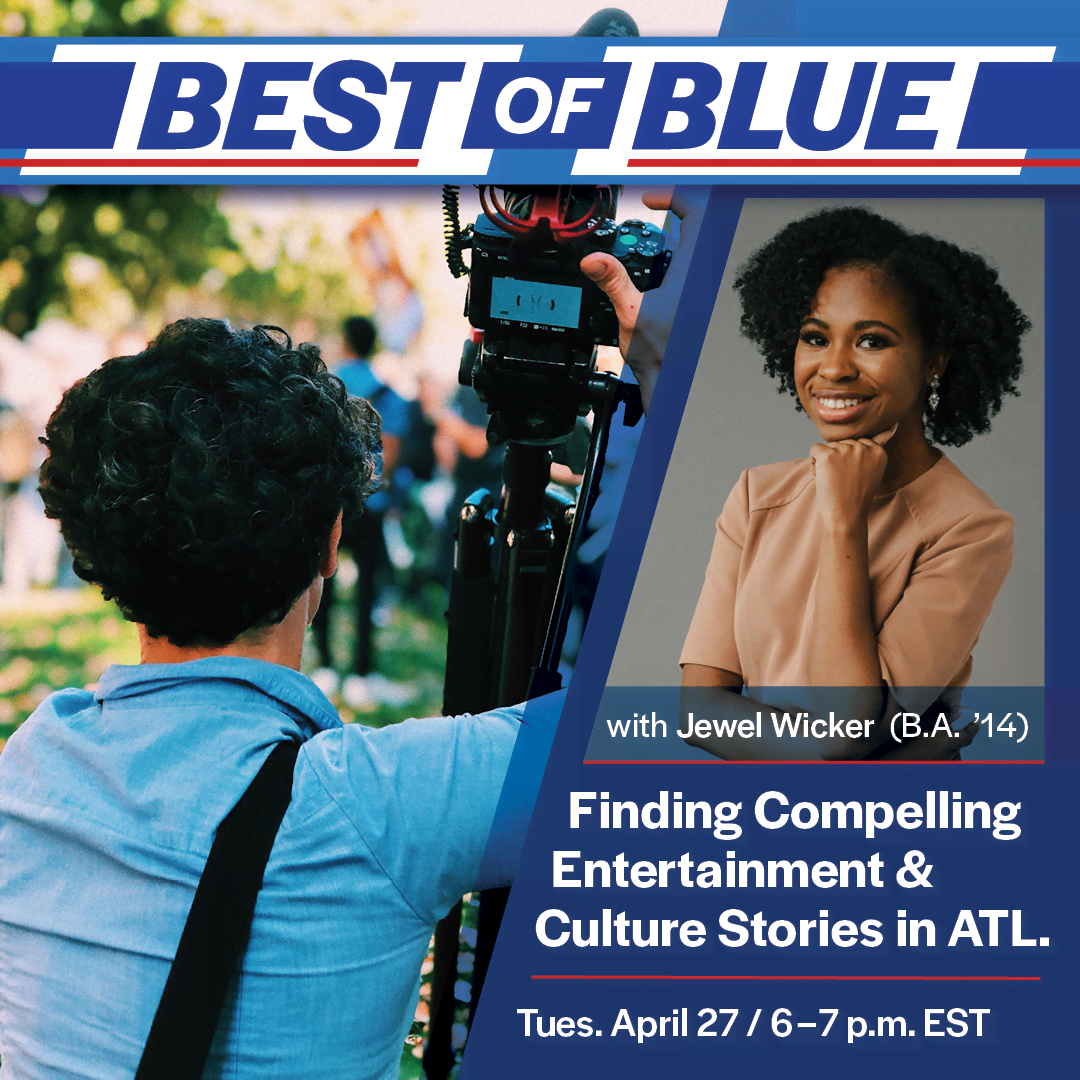 Image for Best of Blue: Finding Compelling Entertainment & Culture stories in ATL webinar