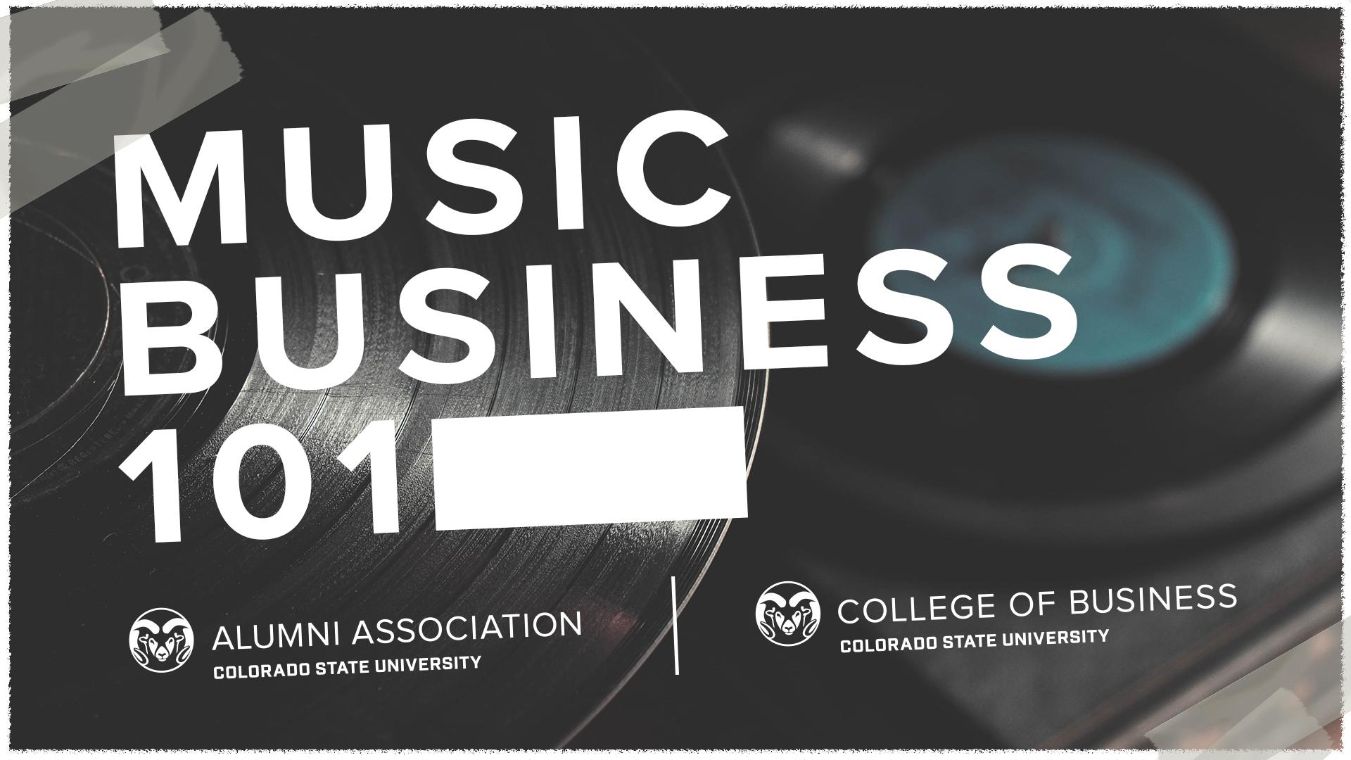Image for Music Business 101 webinar