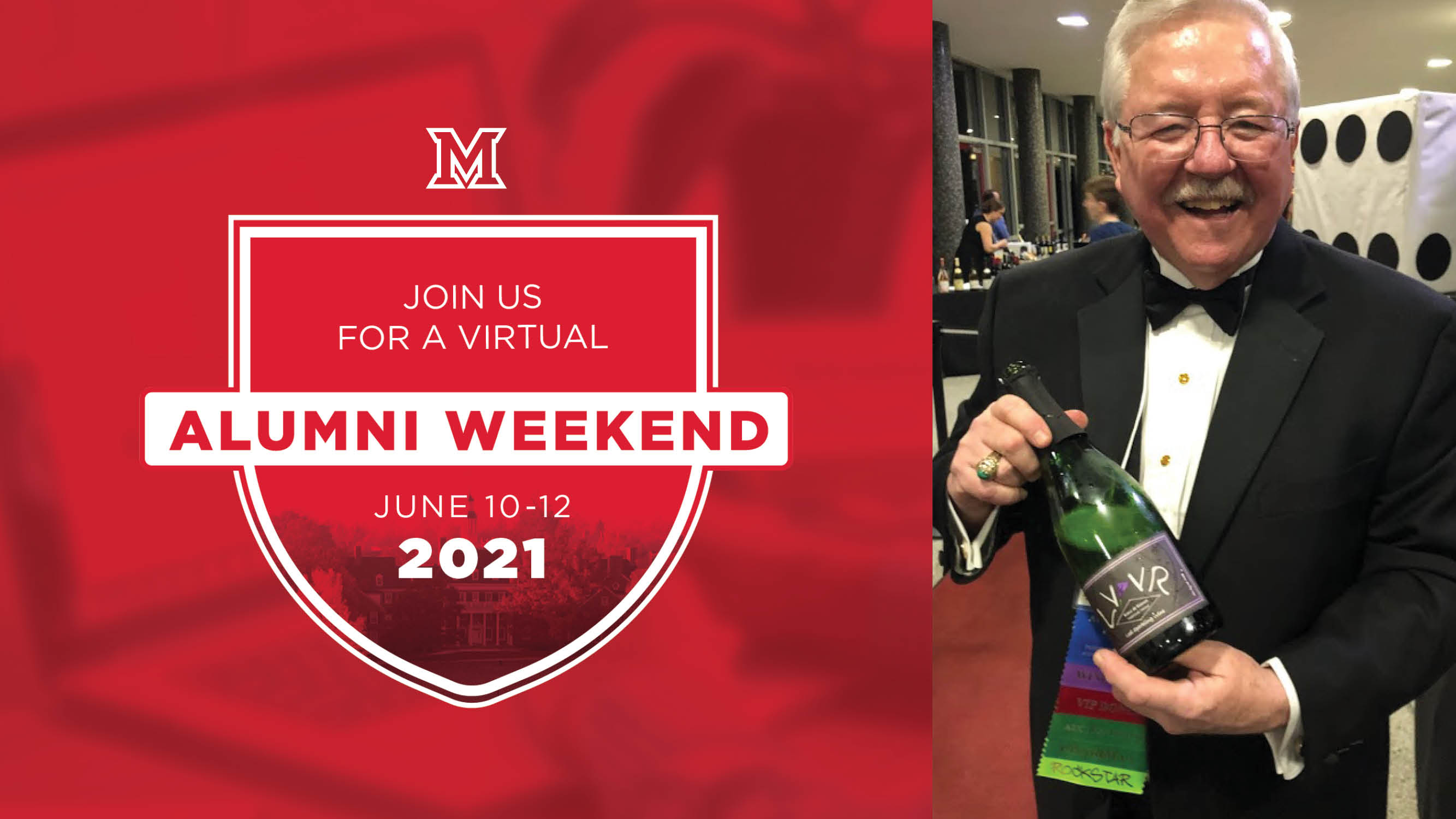 Image for Miami Presents Alumni Weekend: Kick-Off to Alumni Weekend Wine Tasting with Jack Keegan webinar