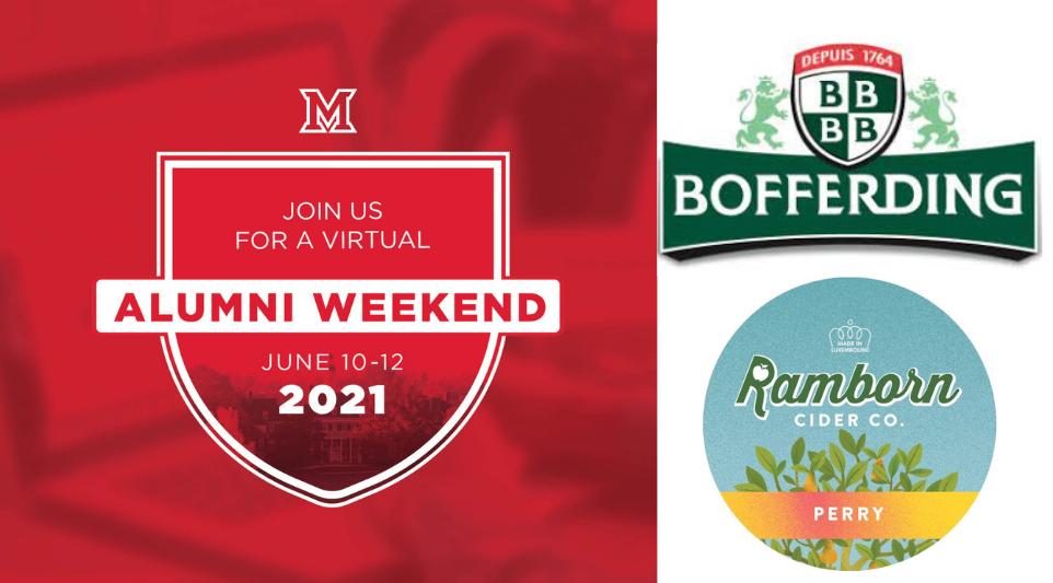Image for Miami Presents Alumni Weekend:  Bofferding Beer Tasting webinar