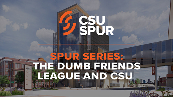 Image for SPUR: How the Dumb Friends League and CSU are working together webinar