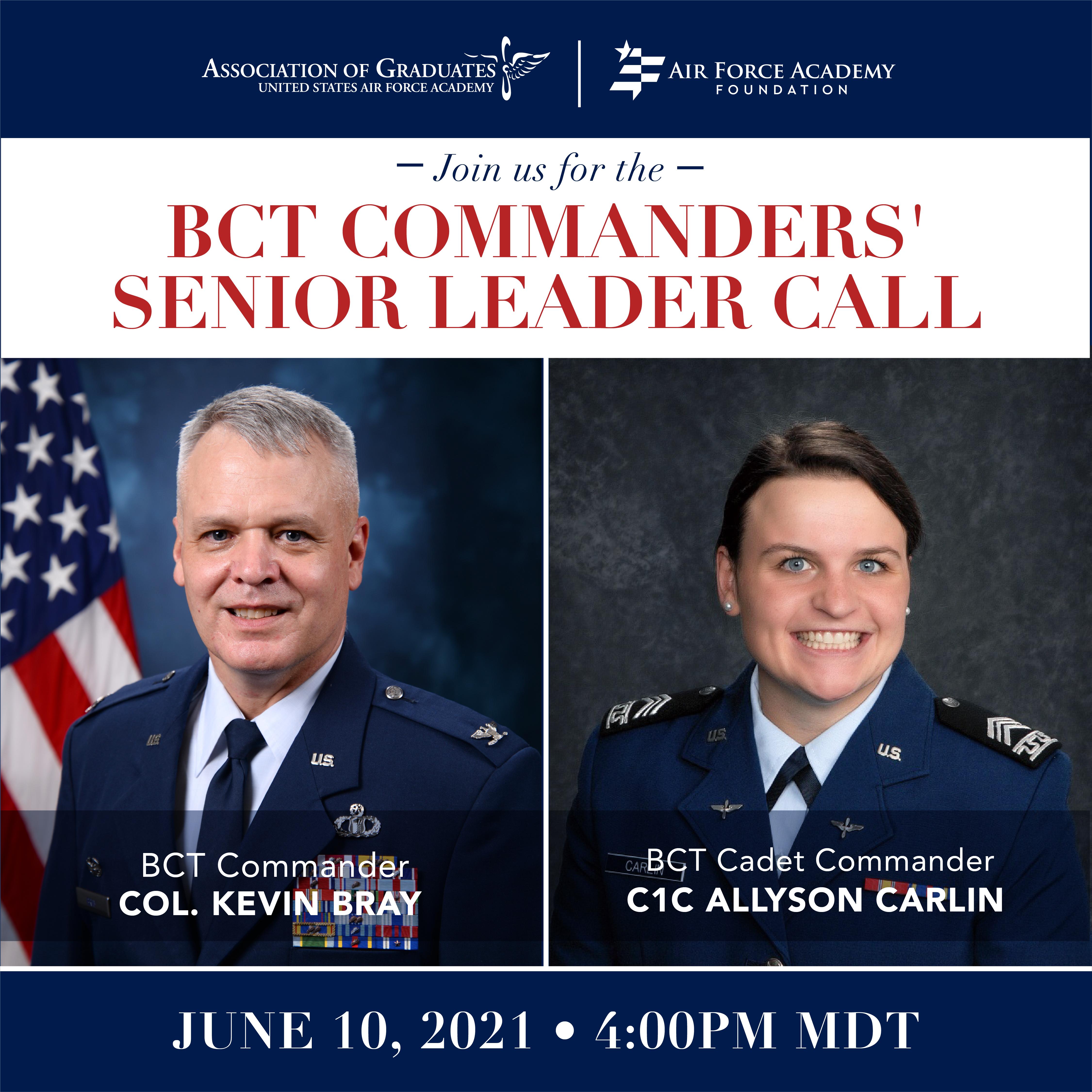 Image for BCT Commanders' Senior Leader Call webinar